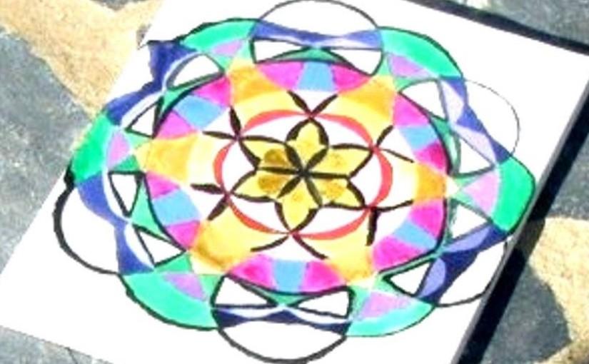 Pintando Mandalas
